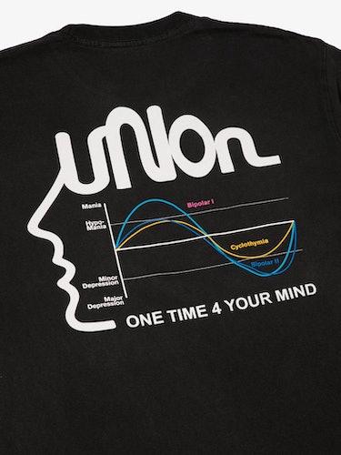 Union Los Angeles mental health t-shirt streetwear