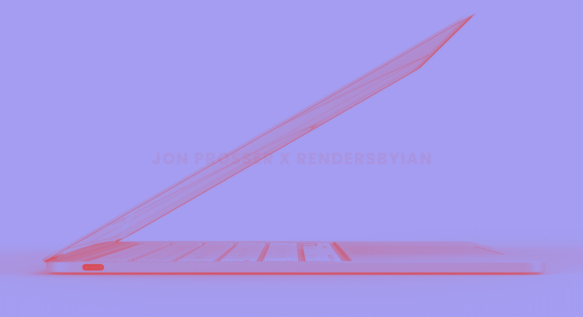 The new 2022 MacBook Air in a light purple color