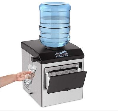 SOUKOO 2-In-1 Countertop Ice Maker