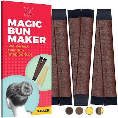 Hawwwy Hair Bun Maker (3 Pieces)
