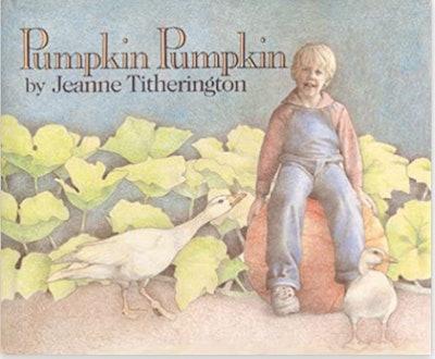 """Image of the book, """"Pumpkin Pumpkin."""""""