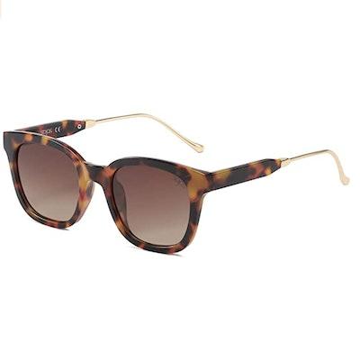 SOJOS Square Polarized Sunglasses