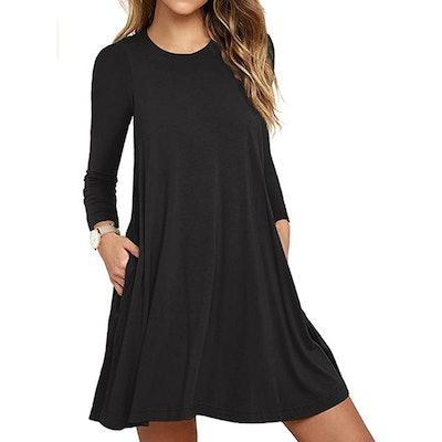 Unbranded Long Sleeve T-Shirt Dress