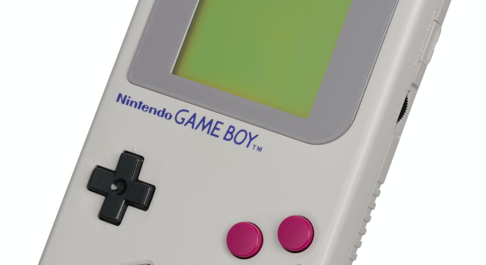 An original Nintendo Game Boy