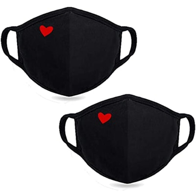 Yiiza Heart Face Cover (2 Pack)