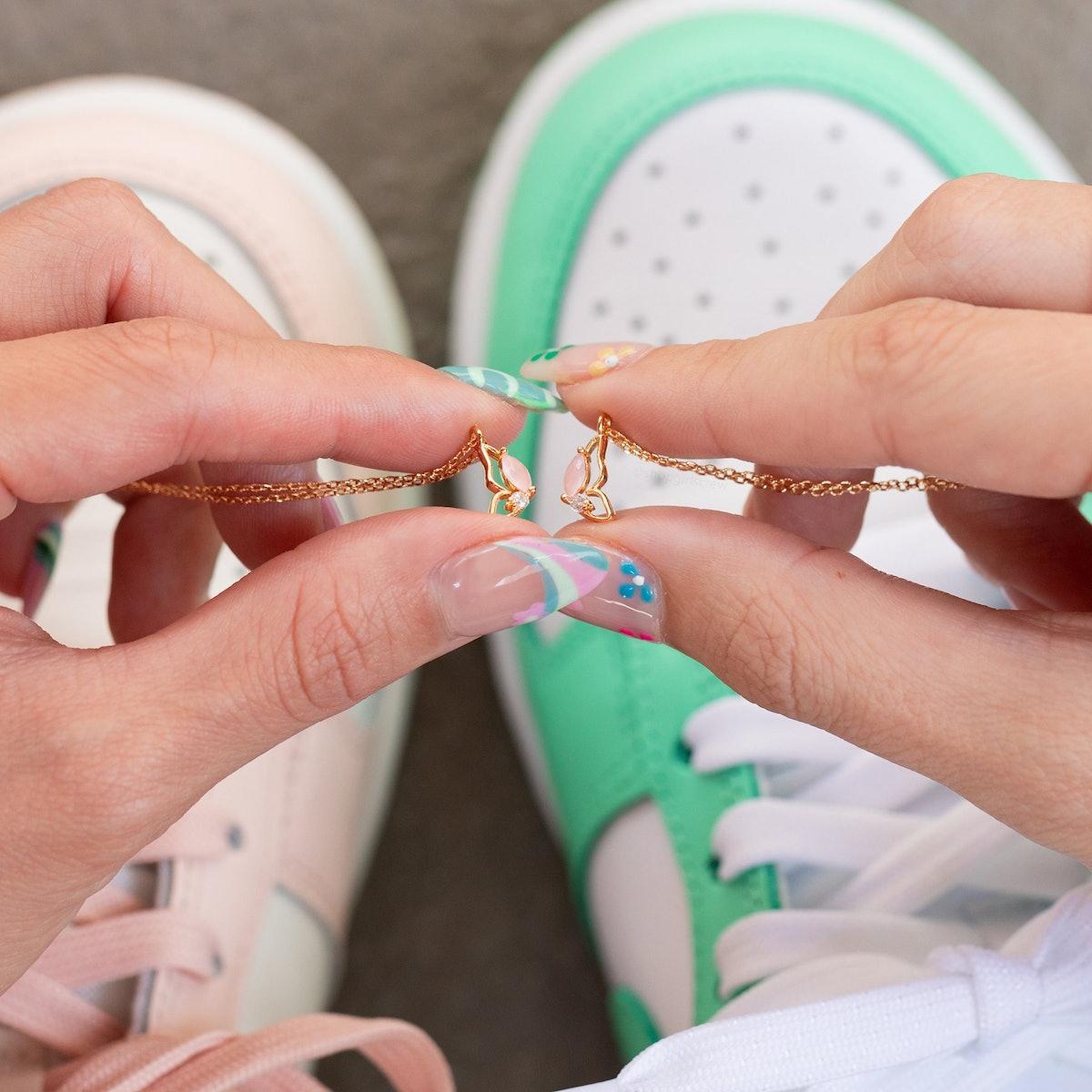 Butterfly Besties Necklace Set