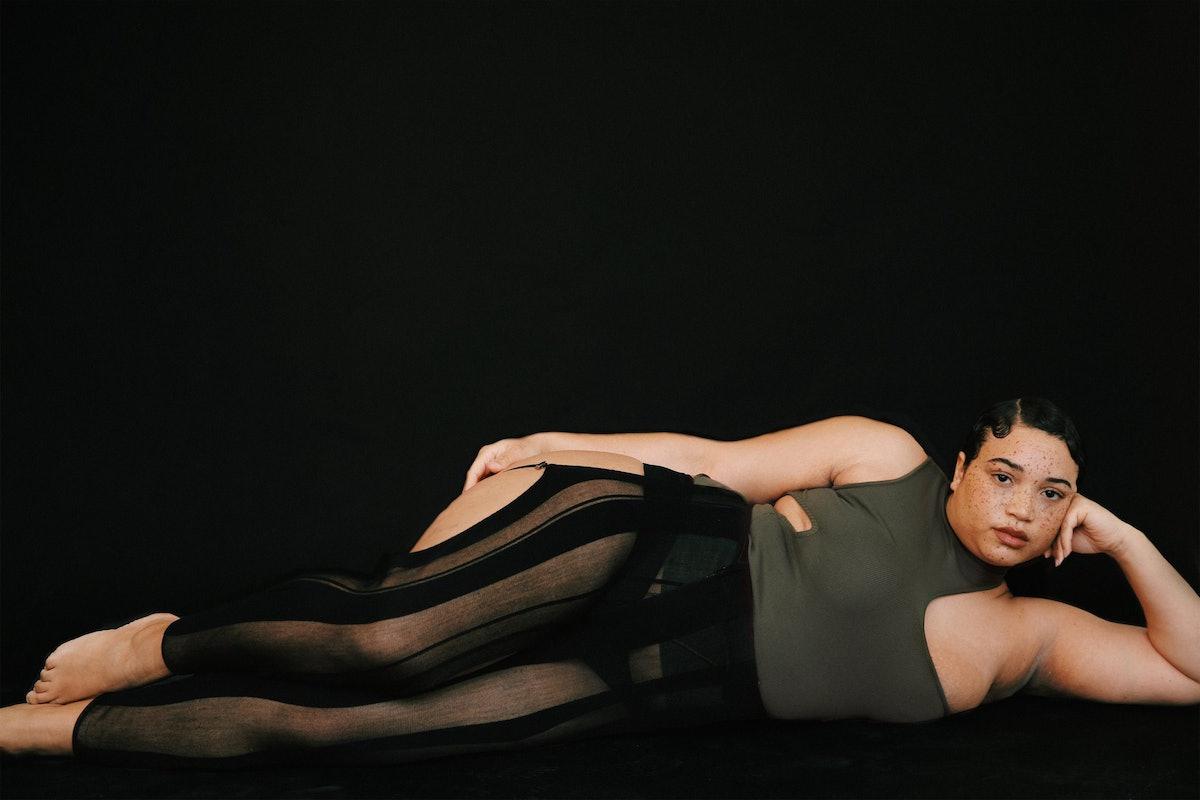 Karoline Vitto Tied Knitted Stocking