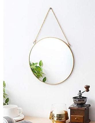 Dahey Hanging Circle Mirror