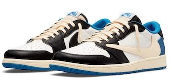 Nike Travis Scott Fragment Air Jordan 1 Low