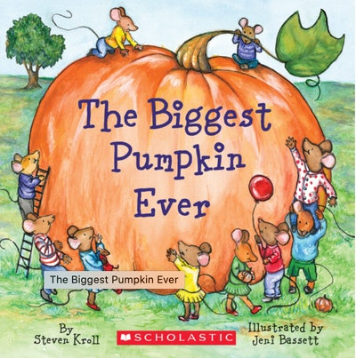 """Image of the book, """"The Biggest Pumpkin Ever."""""""