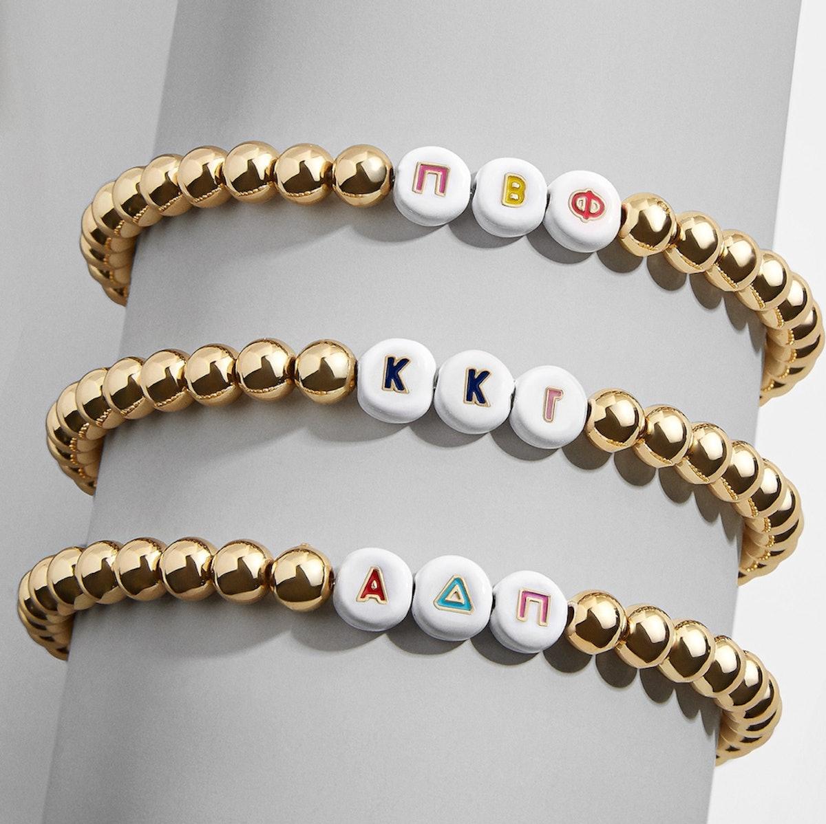 Custom Greek Pisa Beaded Bracelet