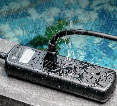 ESHLDTY Waterproof Outdoor Power Strip