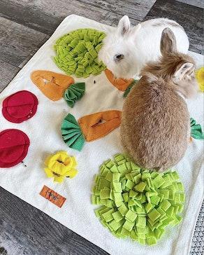Tokihut Rabbit Foraging Mat