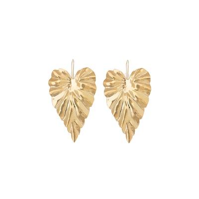 Hoja Earrings Large