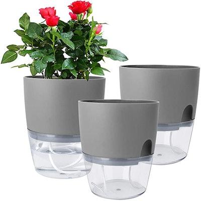 Vanavazon Self Watering Planter Pots