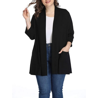 Shiaili Plus Size Cardigan