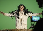 You can dress up like Moira Rose in the 'Crows' movie for Halloween, and pair your pictures with 'Sc...