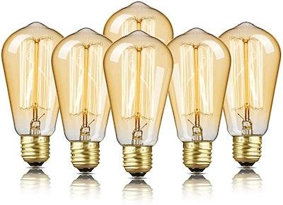 DecorStar Edison Light Bulbs (6-Pack)