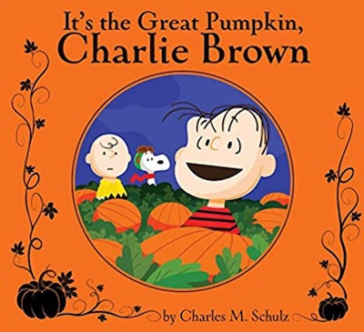 """Image of the book, """"It's the Great Pumpkin, Charlie Brown."""""""
