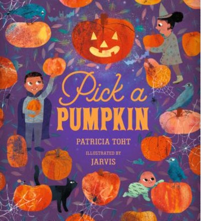 """Image of the book, """"Pick a Pumpkin."""""""