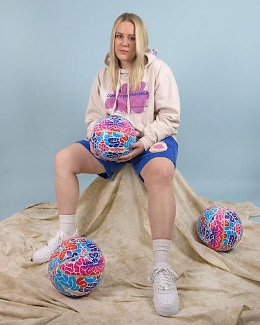 liz beecroft mental health wellness streetwear basketball