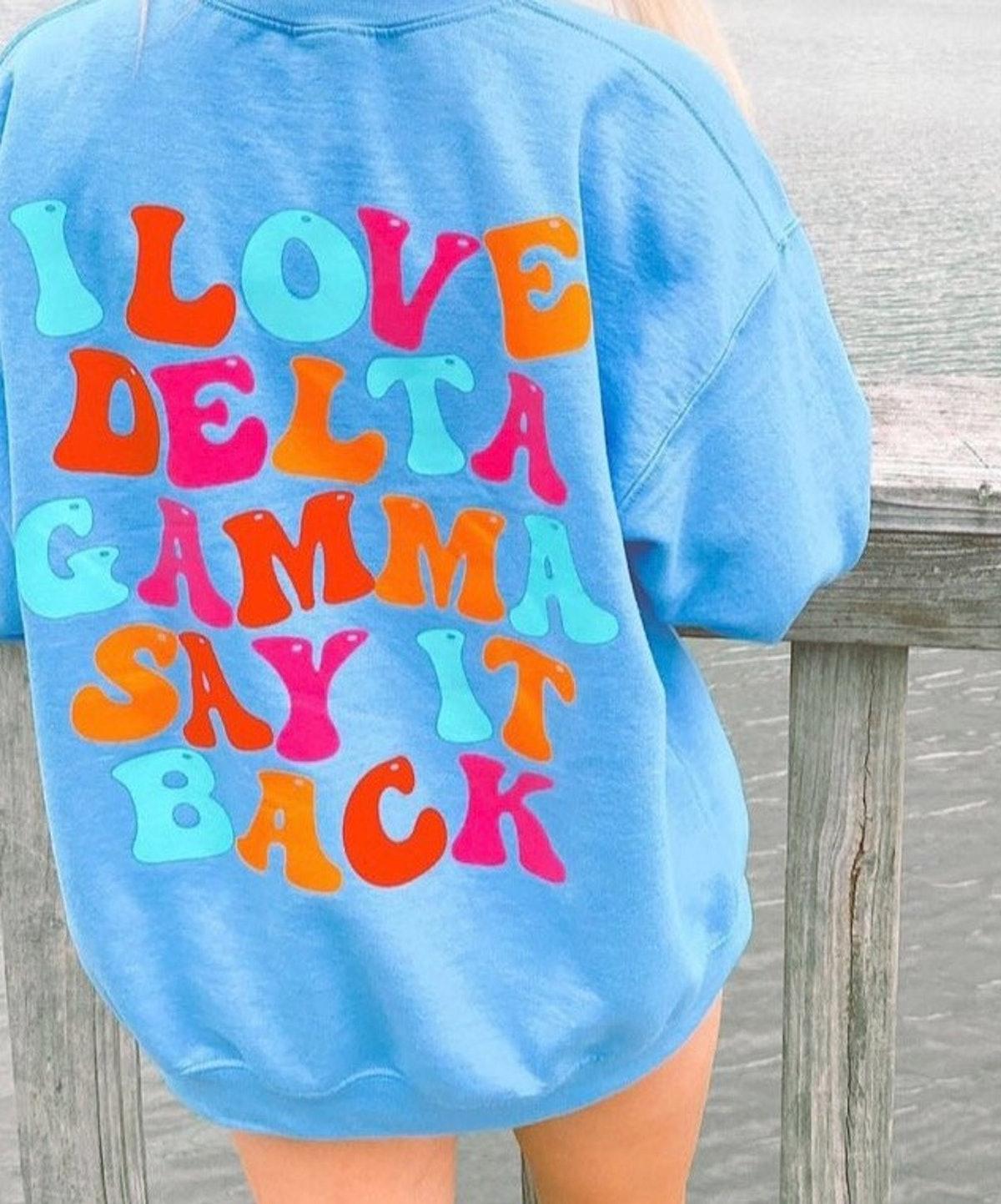 Say It Back Sorority Sweatshirt