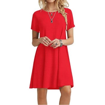 POPYOUNG Tshirt Dress