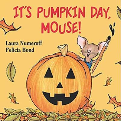 """Image of the book, """"It's Pumpkin Day, Mouse!"""""""