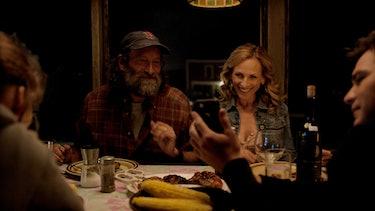 Emilia Jones, Troy Kotsur, Marlee Matlin and Daniel Durant in 'CODA.'