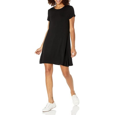 Amazon Essentials Scoopneck A-line Shirt Dress