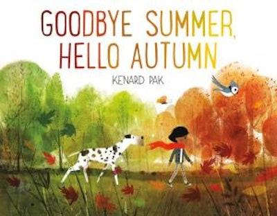 'Goodbye Summer, Hello Autumn' book cover