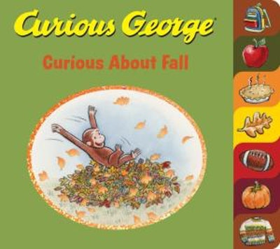 'Curious George: Curious About Fall' book cover