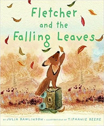 'Fletcher and the Falling Leaves' book cover