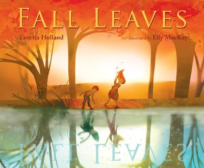 'Fall Leaves' book cover