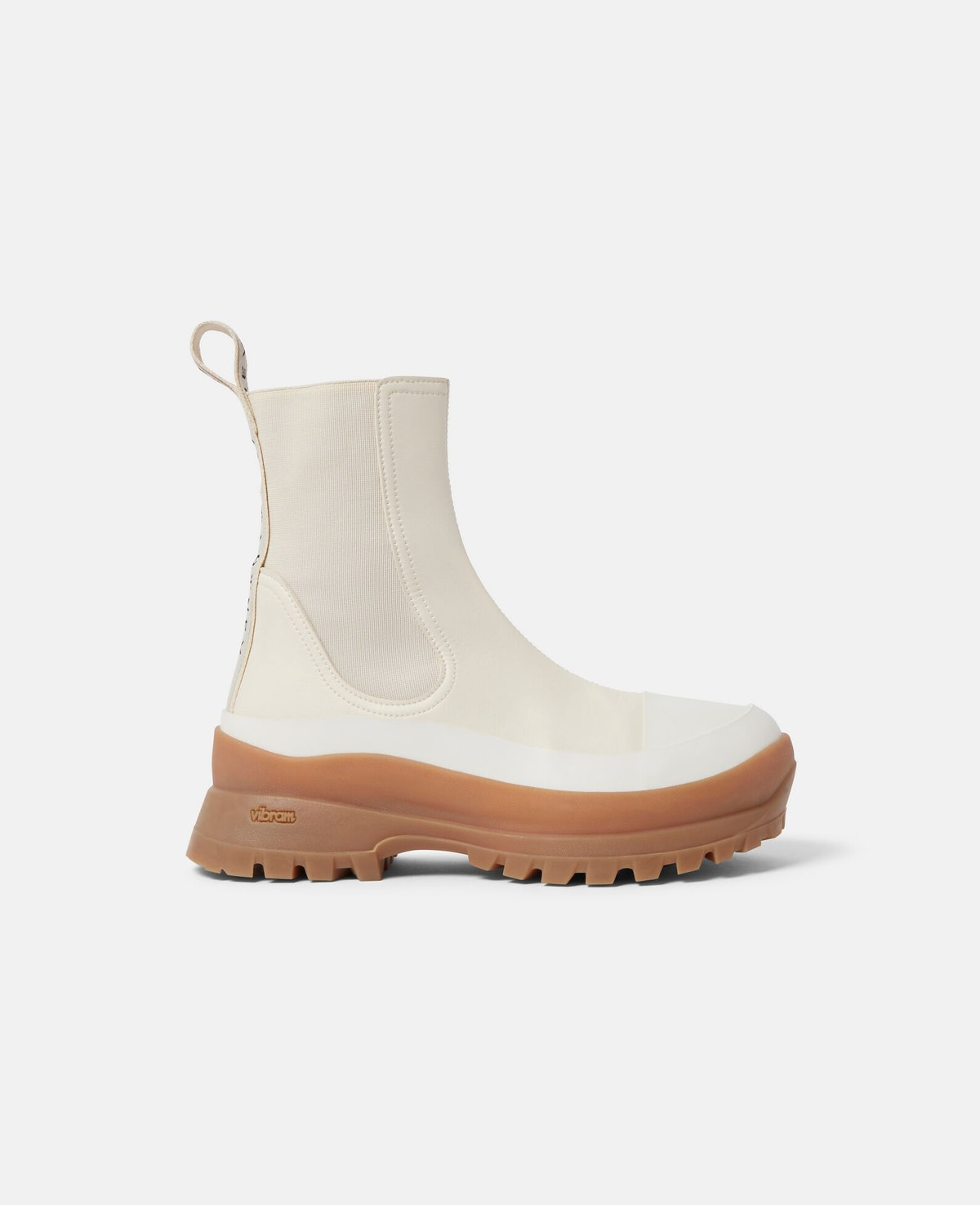 Trace Chelsea Boots in Cream from Stella McCartney.