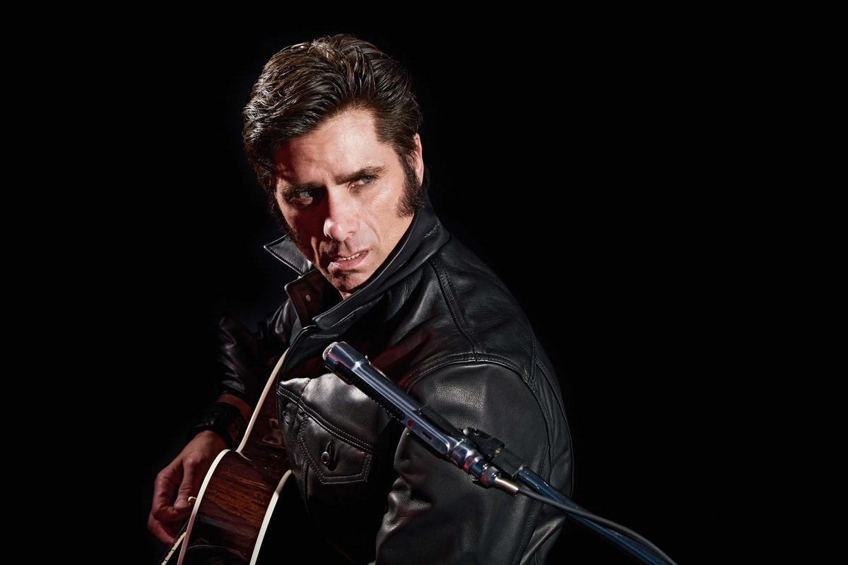 John Stamos as Elvis from the '68 Comeback Special