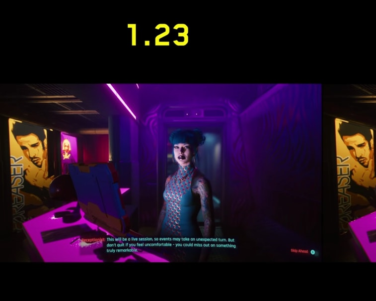 CD Projekt Red is releasing a patch for Cyberpunk 2077 that fixes the brothel scene where players ac...