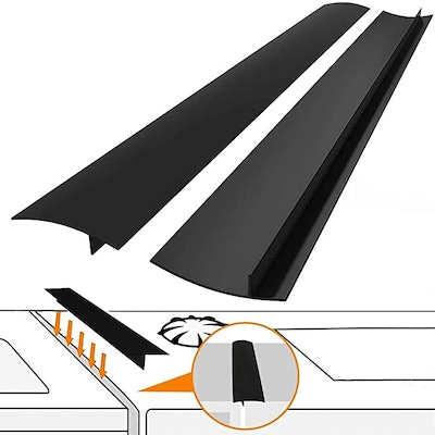 FLSEPAMB Kitchen Silicone Stove Counter Gap (2-Pack)