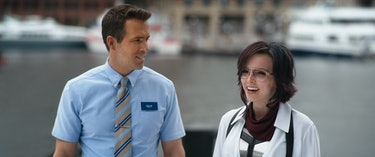 Jodie Comer stars in 'Free Guy' opposite Ryan Reynolds.