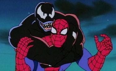 Venom spider-man the animated series marvel
