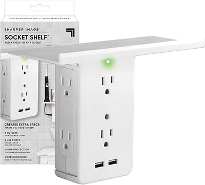 Allstar Innovations 8 Port Surge Protector Wall Outlet