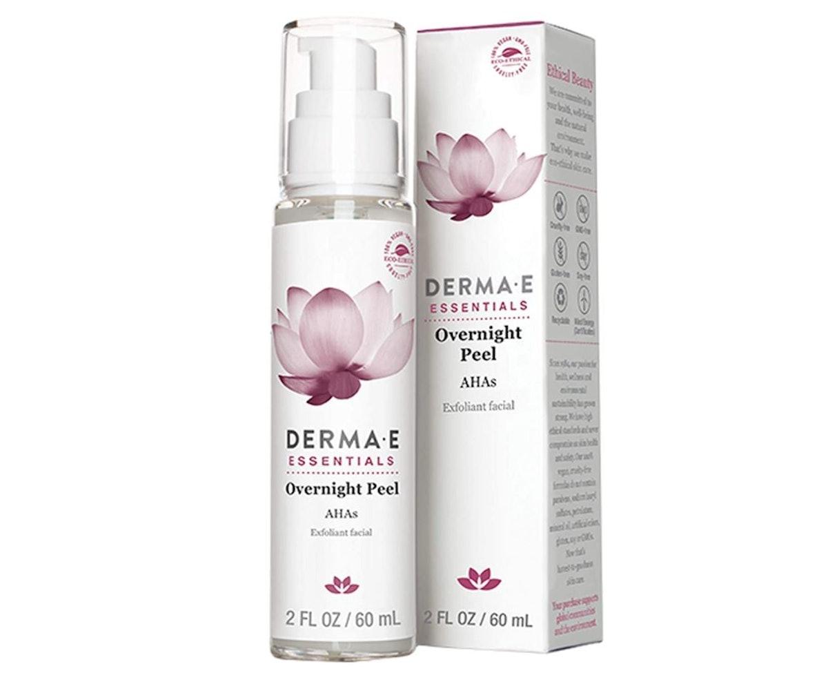 DERMA E Overnight Peel Face Mask