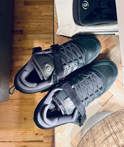 bad bunny adidas forum low black back to school sneakers shoes