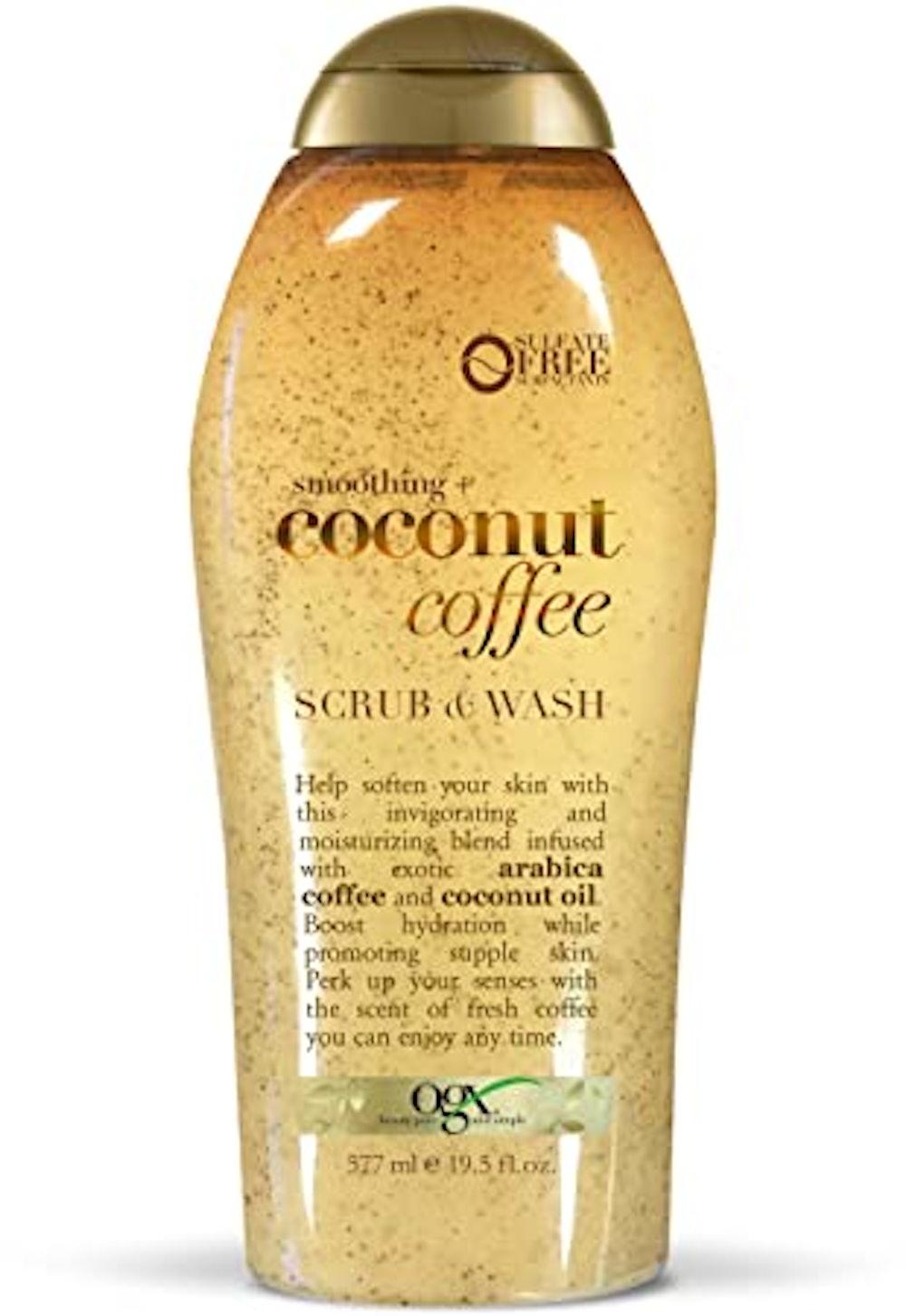 Coffee Scrub and Wash, Coconut
