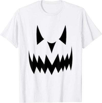 Scary Pumpkin Face Matching T-Shirts