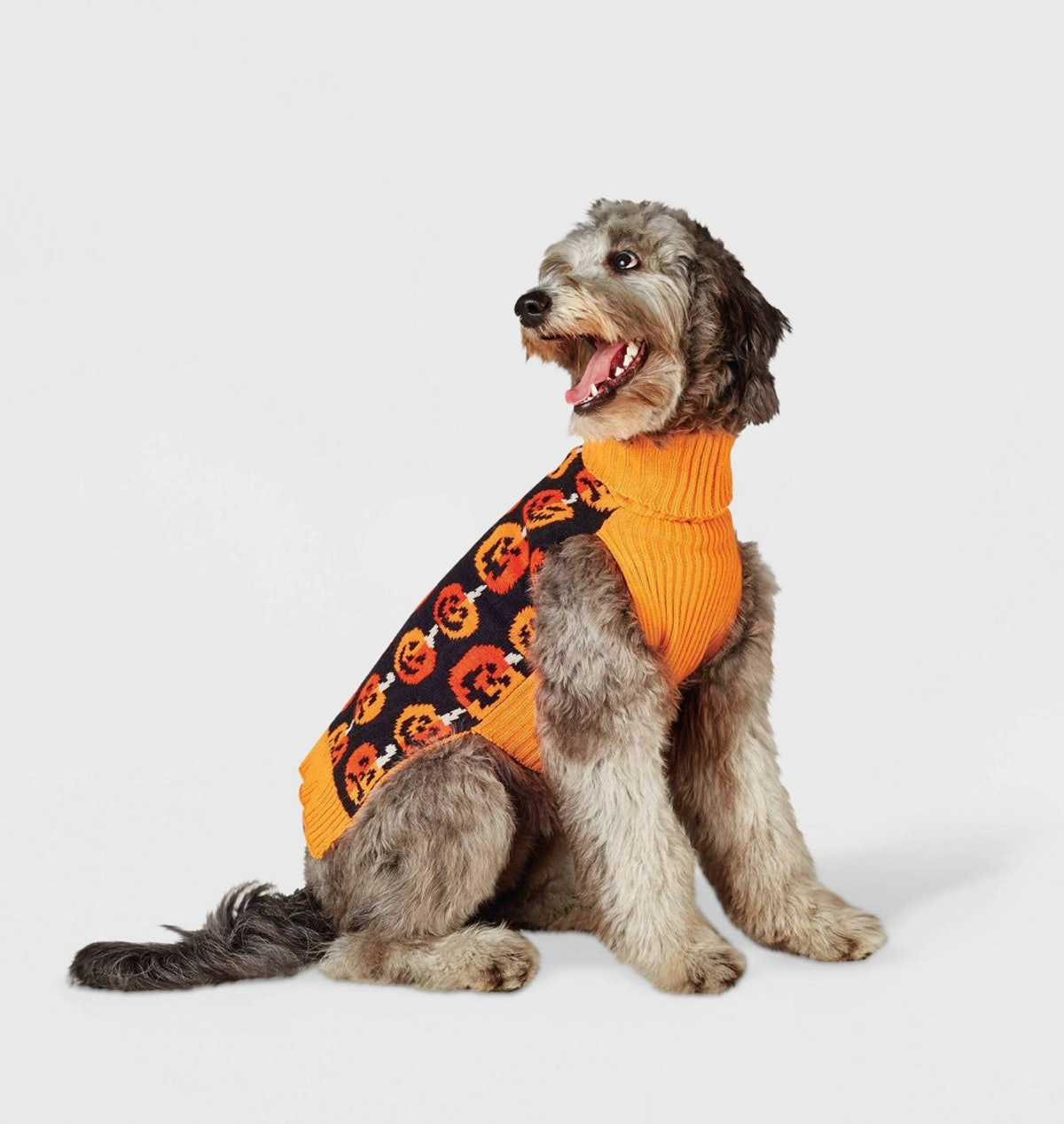 Stacked Pumpkins Dog Sweater