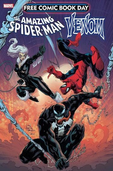 spider-man venom team-up marvel comics