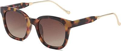 SOJOS Classic Square Polarized Sunglasses