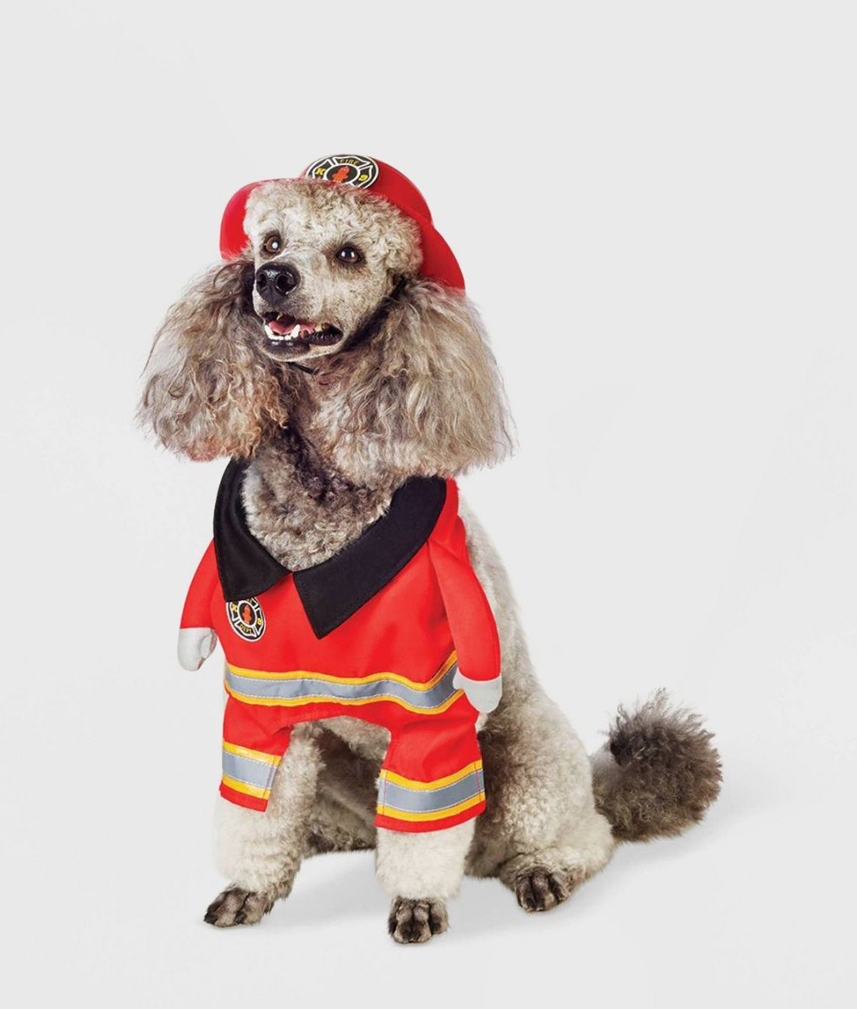 Firefighter Frontal Dog and Cat Costume