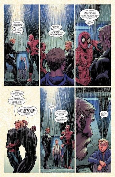 absolute carnage #5 venom spider-man